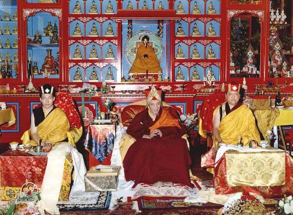 ChogyeTrichenRinpocheKarmapaShamarpa