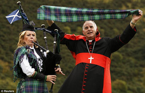 Position: The archbishop was the head of the Roman Catholic Church in Scotland and the UK's senior priest