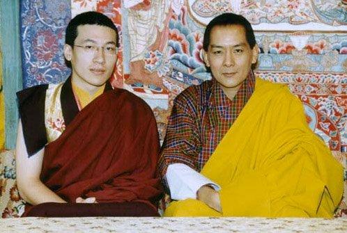 bhutanKingKarmapa