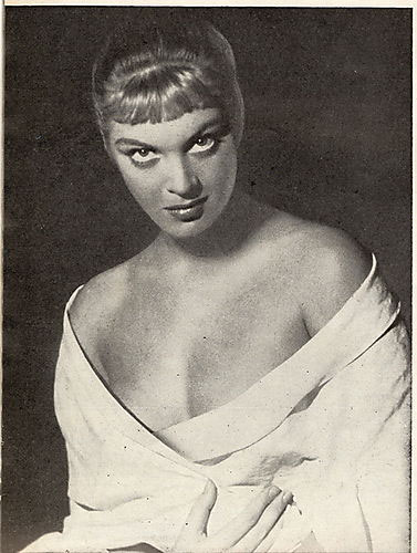Zina Rachevsky, actress 1953
