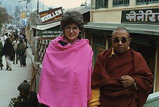 Liza and Lama Norhla, Darjeeling