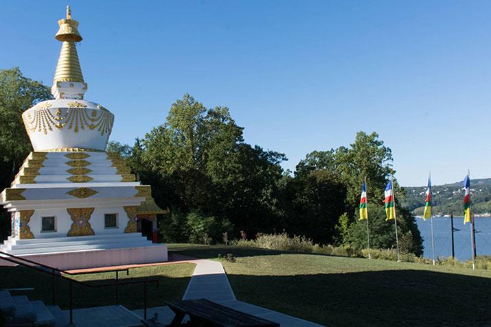 Photo via Kagyu Thubten Choling on Facebook